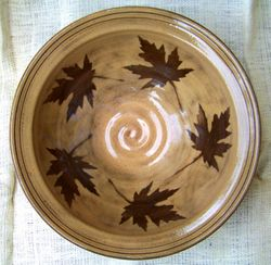 Maple Leaf Bowl