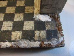 Tile effect on porch