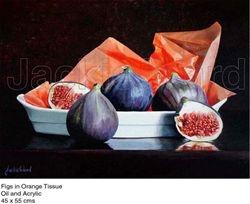 Figs in Orange Tissue