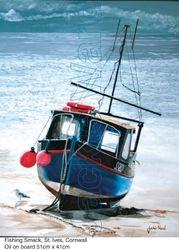 Fishing Smack, St. Ives, Cornwall