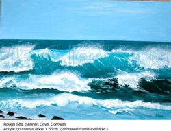 Rough seas, Sennen Cove