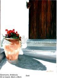 Geraniums, Andalucia