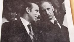 Max with Duke of Kent