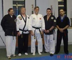 The core of The Cleveland Karate Academy plus me