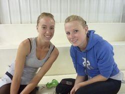 Robyn and Charlene