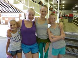 Emily, Heather, Brooke and Tiffany