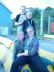 Brooke, Dallyn, Charlene and Jeanine