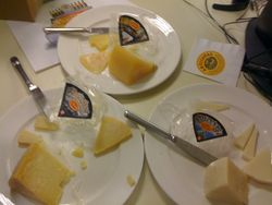 Cheese sent to me by Paski Sir