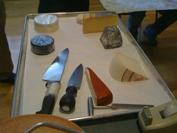 Cheese Cutting and Wrapping Session (Day 2)