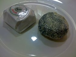 two kosher cheeses for passover