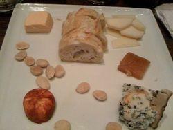 Cheese Plate at a Spanish Tapa Bar