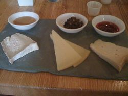 Garce's Trading Cheese Plate