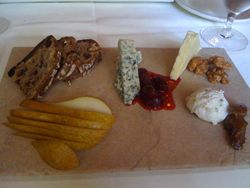 The White Dog Cafe Cheese Plate