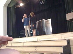 Taylor Mali and his wife visit my school