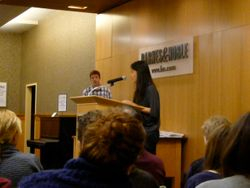April 16, 2011 Barnes and Noble Poetry Reading