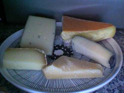 Just a look into my fridge: Cheese Plate 9.25.10