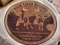 Rush Creek Reserve by Uplands Cheese.