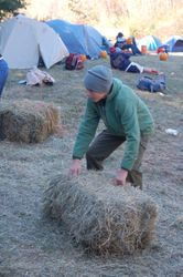 Hay Bale Tossing Competition
