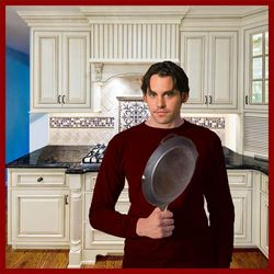Xander back in the Kitchen