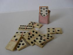 Dominoes and playing cards