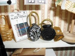 Home made Button handbags
