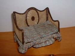 Wheelback sofa