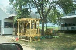 Amish yard furniture