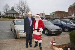 Santa Greets Bob