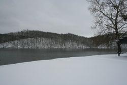 WINTER ON LAUREL HILL LAKE