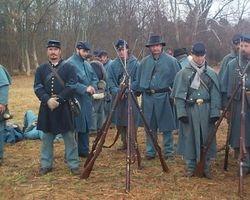 union reenactors