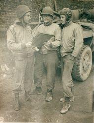 Bob and his men in 1944