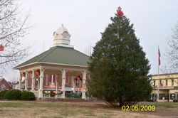 On the Square at Christmas