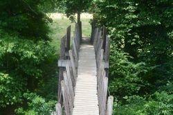 Take a walk across the bridge.