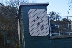 Sign at Hope Sprigs Park