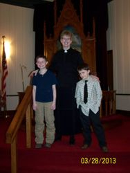 March 2013 First Communion