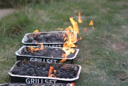 BBQs ready - where's the food???