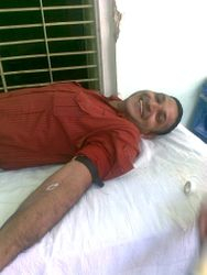 BLOOD DONATION CAMP IN 2010