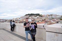 Lisabon pogled