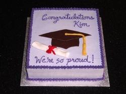 Graduation Cake for Kim