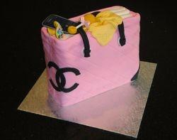 Chanel Diaper Bag 3D Cake