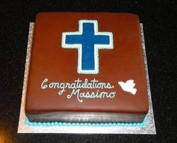 Confirmation Cake for Massimo
