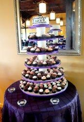 Wedding Mini Cupcakes and Cake