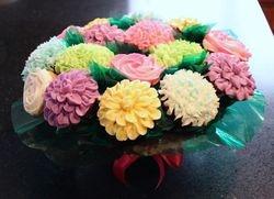 Cupcake Flower Bouquet