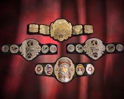 TWA Championship Belts