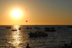 Sunset in Cafe Del Mar