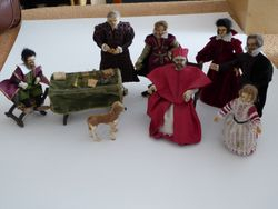 Figures from Diorama