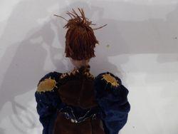 dolls upper body from back