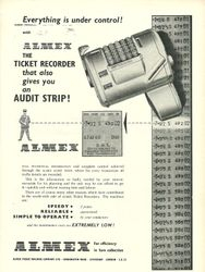 Almex Advert 1962