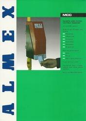 Almex MCC Sales leaflet (front)