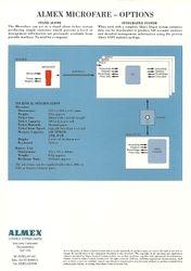 Microfare sales leaflet (rear)